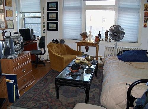 Studio apartment 1 bedroom
